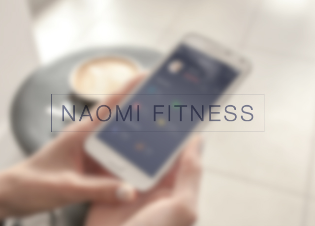 Android app «Naomi Fitness»