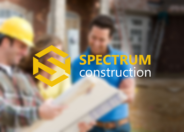 Логотип «Spectrum Construction»